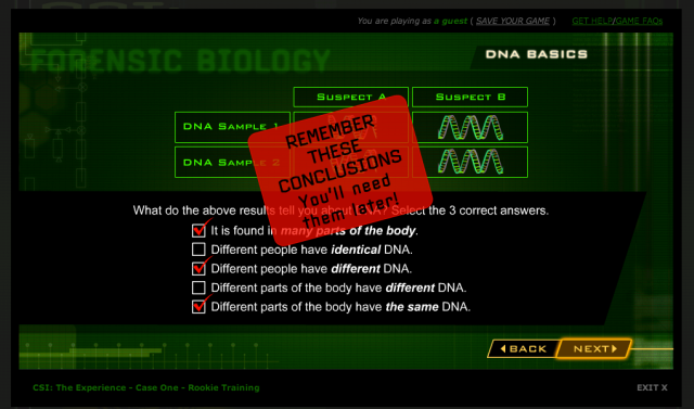 Forensic biology website