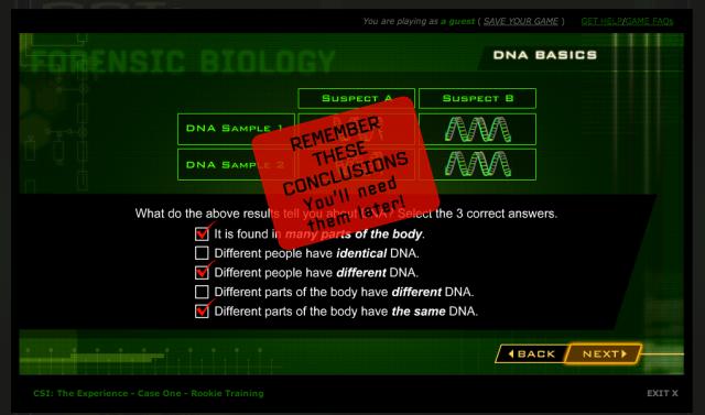 Forensic biology website