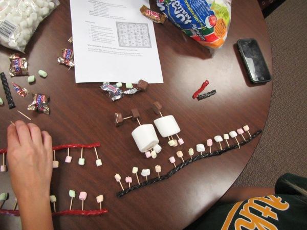 Candy models of translation