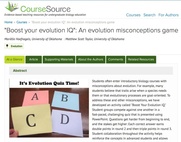 coursesource screen capture